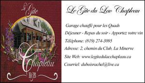 Le Gîte du Lac Chapleau